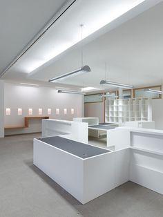 Ampliación de las oficinas del Ayuntamiento de Brackenheim en Alemania · arquitectos: Lederer + Ragnarsdóttir + Oei · el blanco como color de base