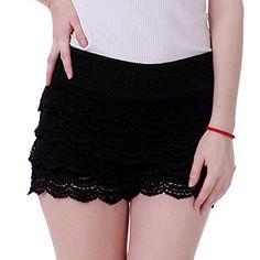 HDE Women's Fitted Scallop Hem Crochet Lace Mini Shorts (Black, Small) HDE http://www.amazon.com/dp/B00KO7WPWK/ref=cm_sw_r_pi_dp_xB7Gub19REF59