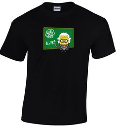 Hello! Check out our new arrivals! Cool tshirts for Cool People! Only from nickcooltshirts! Buy 60 euro of our stuff and get 10% discount! Albert Einstein School Chalkboard E=mc2 Scientist Short Sleeve Black T-shirt Maths Cool Geek Nerd Funny Men Top Tee €15.00 https://www.etsy.com/shop/nickcooltshirts?utm_source=outfy&utm_medium=api&utm_campaign=api