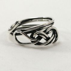 Figure 8 Climbing Ring, from Earth Art Gem & Jewelry #climbing #rope