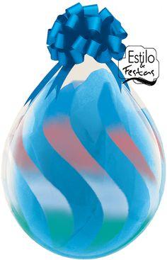 """Balão Embalagem Assorted Sprays 18\"""" polegadas Stuffing Qualatex"""