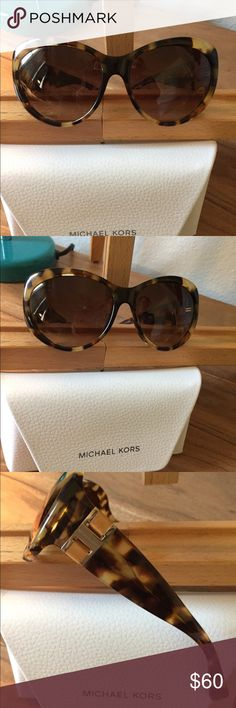 Michael Kors Brazil sunglasses. EUC lightly worn Michael Kors tortoise Brazil sunglasses. I've only worn them a couple of times before I went on to my next pair. Beautiful and classic. Michael Kors Accessories Glasses