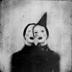 Let Rimel Neffati Haunt Your Dreams. Her name is Rimel Neffati, and she is a terrifying French woman. Her photos are surrealist black and white portraits of women. Inspiration Art, Art Inspo, Circus Aesthetic, Lila Baby, Arte Dope, Art Noir, Dark Circus, Circus Art, Mark Ryden