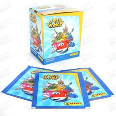 SOBRES PANINI  SUPER WINGS 50 UDS