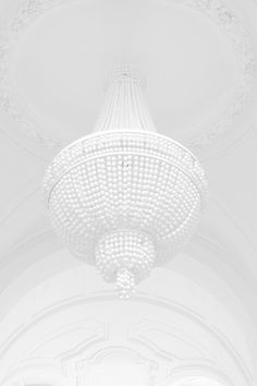 ☼ Midday Visions ☼ dreamy light & white art & photography - chandelier