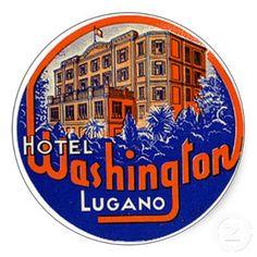 Hotel Astor ciudad de Nueva York Estilo Vintage Etiqueta de Equipaje Etiqueta Etiqueta De Viaje Equipaje
