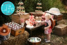 """Photo 18 of 38: Cowgirl pony party / Birthday """"Birthdays are better shared with your bestie""""   Catch My Party"""