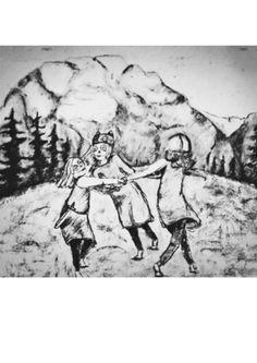 By Anja Fallan @anjafallan #grimstad #norway #art #anjafallan #childrensbooksillustration #childrensillustration #childrensbooks