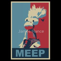 """The Meep (Muppet Propaganda)"" T-Shirts & Hoodies by James Hance 