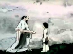 Feeling from Mountain and Water : 1988 - Directed by Te Wei. Shan shui is a Chinese style of painting that became popular in the 5th century where waterfalls, rivers and mountains are the dominat subjects. Created using a brush and ink, a Shan shui artist depicts the vast, mystical essence of nature where the human form plays a minor role. This film, about an old guqin master who is cared for by a young girl, is a masterful example of Shan shui come to life.