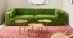 A Look at Interior Designer India Mahdavi's New Collection of Carpets