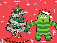 A Very Yo Gabba Gabba Christmas app: Maybe the coolest of them all.
