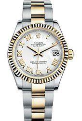 Rolex Lady Datejust 31 Steel Yellow Gold watch White dial 178273 Rolex Watches, Watches For Men, Female Watches, Buy Rolex, Rolex Submariner, Audemars Piguet, Breitling, Gold Watch, Rose Gold