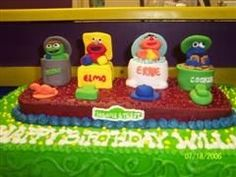 sesame street By shelley on CakeCentral.com