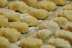 Homemade Instant potato gnocchi