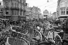 Bike parking van Amsterdam