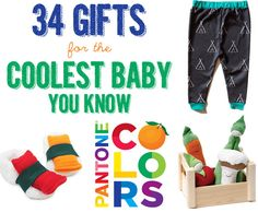 34 Gifts For The Coolest Baby You Know aka for our future hipster children -Megan Little Babies, Little Ones, Cute Babies, Best Baby Gifts, Baby Mine, Baby Presents, Cool Baby Stuff, Fun Stuff, Everything Baby