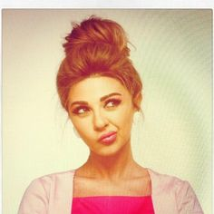Myriam Fares hair and makeup