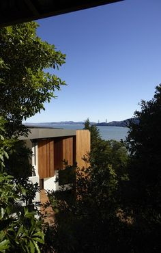 A Stand Of Nikau, An Idyllic Private Bay And A Building Platform Defined By  Ridges Either Side Set The Architectural Program Of The Design Of This U2026