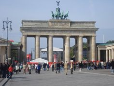 Porta di Brandeburgo #Berlin #Germany