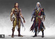 Game Concept Art, Character Concept, Character Art, Character Design, Mortal Kombat Dc, Supernatural Crossover, Arte Cyberpunk, Superhero Design, Art Station