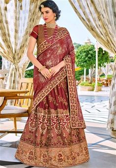 Impress everyone with your amazing trendy look by draping this maroon color two tone lycra pattern with glitter and bright georgette lehenga style with heavy work saree. This party wear saree won't fail to impress everyone around you. This gorgeous saree Latest Indian Saree, Indian Sarees Online, Buy Sarees Online, Lehenga Style Saree, Party Wear Lehenga, Indian Designer Sarees, Designer Sarees Online, Trendy Sarees, Stylish Sarees