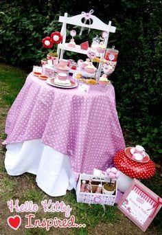 Hello Kitty Birthday Ideas VIA Kara's Party Ideas