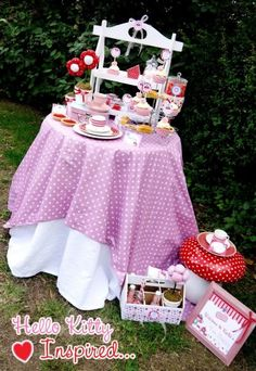 Hello Kitty Birthday Ideas VIA Kara's Party Ideas