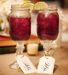 Country wedding - mason jar style