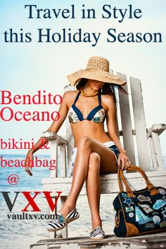Packing and longing to be there! ...Soon | Bendito Oceano bikini by Agua Bendita | VXV at Tumblr