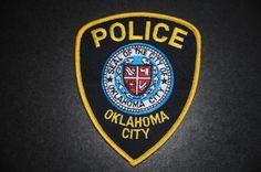 Oklahoma City Police Patch, Oklahoma County, Oklahoma (Current Issue) - Capitals Display