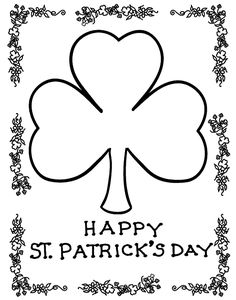 St Patrick's Day Activities for Kids: Free Printable Coloring Pages and Games
