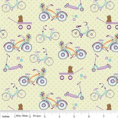 Doohikey Designs - Dress Up Days - Bikes in Green