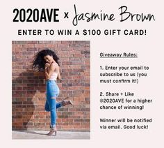 Win a $100 Gift Card for a New Wardrobe!