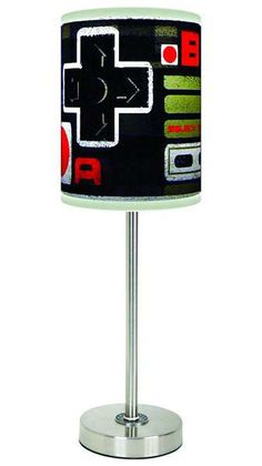 Awesomely Geeky Gamer Lamps - These Video Game Inspired Lamps Will Light Up Your Life (GALLERY)