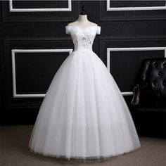 새로운 2017 웨딩 드레스 제나라 워드 어깨 한국어 패션 큰 사이즈의 얇은 여름 결혼식 신부 임신 한 여성은 결혼
