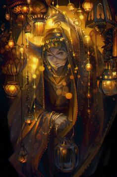Lanterns by oione #mage
