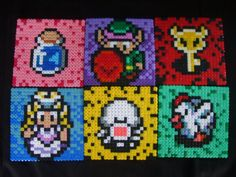 Zelda collection perler beads by anyeshouse on deviantart