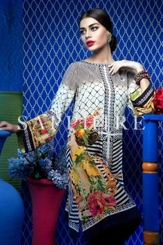 Record buzz has been surrounding the eagerly anticipated collaboration between leading textile colossus Sapphire Textiles and eminent Couturier Khadijah Shah of Elan! The moment has finally arrived…