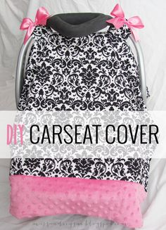 easy DIY carseat cover tutorial (if i could do this, you totally can too!)