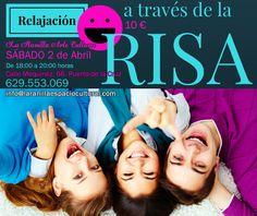 La Ranilla Espacio Artesano: Taller de RELAJACIÓN A TRAVÉS DE LA RISA. Sábado 2...