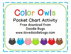 Color Word Matching Activity {free download} - Pinned by @PediaStaff. - Please Visit http://ht.ly/63sNt for all our pediatric therapy pins