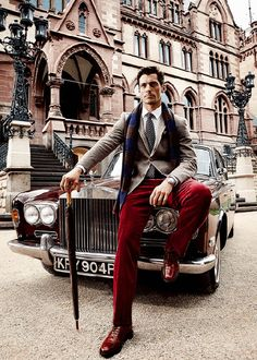 """- Oxford University Gentleman : """"Carry yourself like a king and you'll attract a..."""