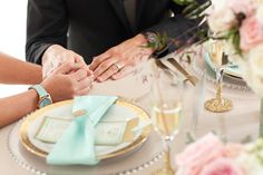 Gold + Mint Wedding Inspiration