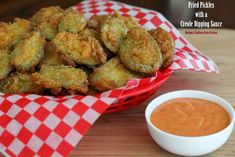 Melissa's Southern Style Kitchen: Fried Pickles with a Creole Dipping Sauce
