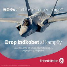 Debat om fremtidens DK i @StudhusAarhus igår: De vil købe kampfly. Vi vil investere i vores fælles velfærd! #dkpol
