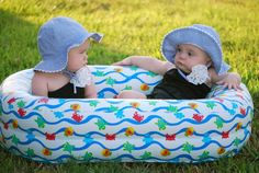 i always said i want boy/girl twins but this kinda makes me want 2 girls! how cute