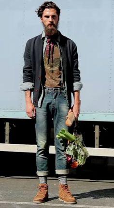 Men's hipster fashion | www.sunpin.org