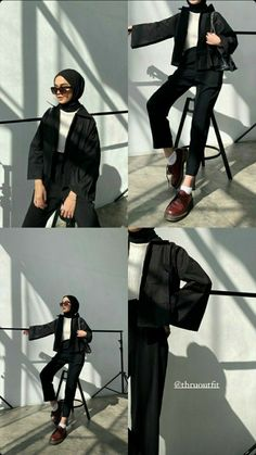Stylish Hijab, Modest Fashion Hijab, Modern Hijab Fashion, Street Hijab Fashion, Casual Hijab Outfit, Hijab Fashion Inspiration, Korean Girl Fashion, Teen Fashion Outfits, Muslim Fashion