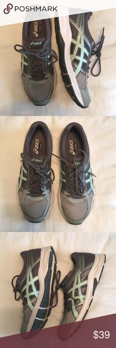 NEW Asics running shoes Asics - Gel contend 4 - worn once - size 10 Asics Shoes Athletic Shoes